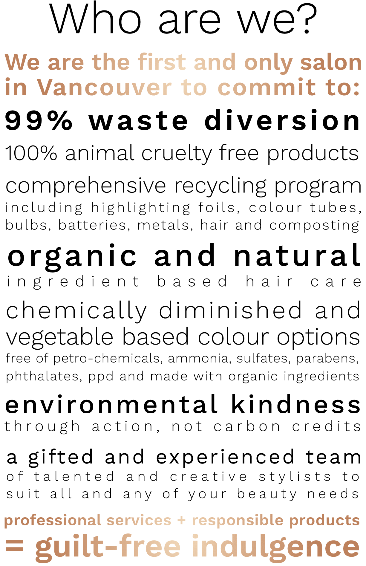 99 percent waste diversion